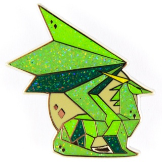 Broche - Dragão Verde