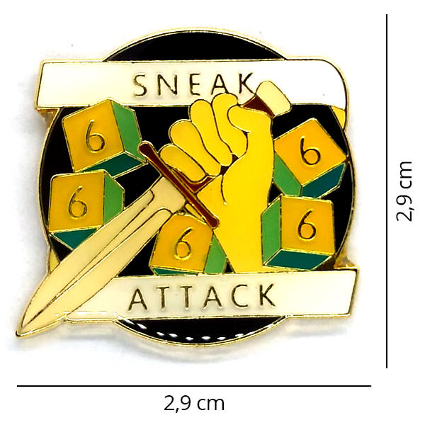 Broche - Sneak Attack