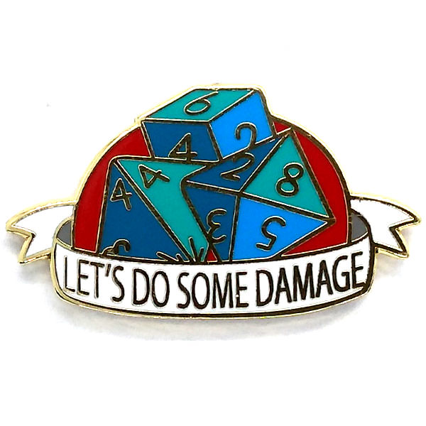 Broche - Let's do Some Damage
