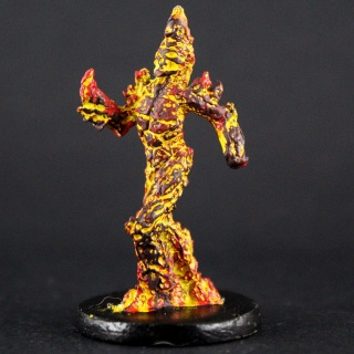 Miniatura RPG - Elemental do Fogo #1 Miniaturas e Grids
