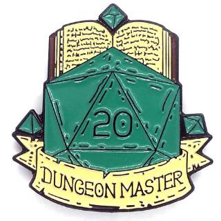 Broche - Dungeon Master d20