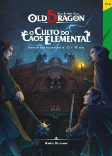 Old Dragon - O Culto do Caos Elemental Livros de RPG