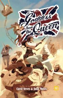 Goddess Save The Queen - Manual Básico Livros de RPG