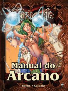 Manual do Arcano Livros de RPG