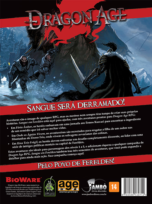 Dragon Age RPG - Sangue em Ferelden