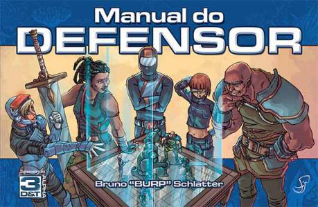 Manual do Defensor Livros de RPG