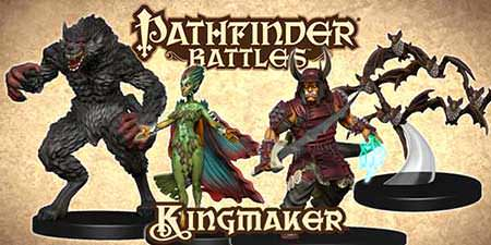Kingmaker, o novo set de Pathfinder Battles