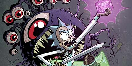 HQ com crossover de Rick & Morty e Dungeons & Dragons é lançado